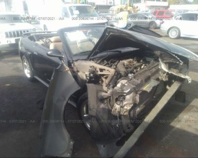 Salvage Black 2003 Ford Mustang