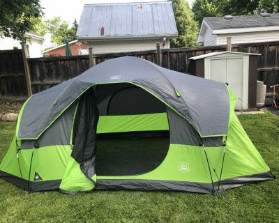 Ventura 6 person tent with shade shelter