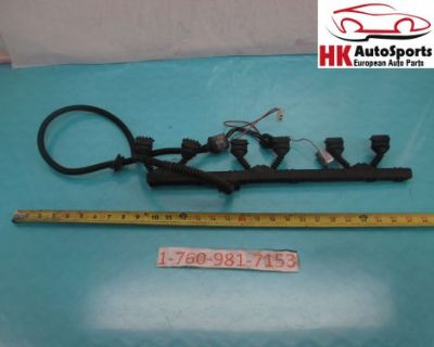Bmw E46 325i 330i M3 Ignition Coil Wire Wiring Harness 1440006 Rwd At Oem #1