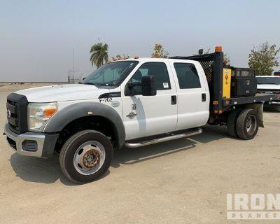 2011 Ford F-550 Super Duty XL 4x4 Flatbed Truck