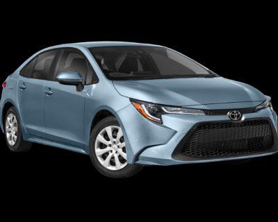 New 2022 Toyota Corolla LE FWD
