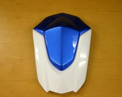 Oem Suzuki Gsxr 600 750 2008-2009 Blue & White Rear Seat Cowl Fairing Solo Seat