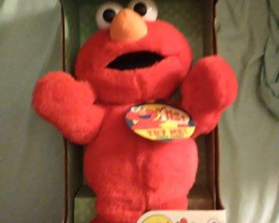 First Edition Tickle me Elmo still in box