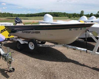 2001 Crestliner 14 Sportsman Aluminum Fish Boats Suamico, WI