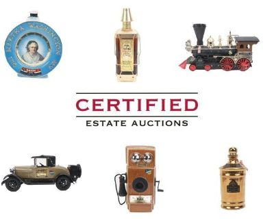 Auction Featuring Jim Beam Bottle Collection