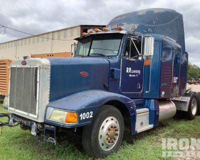 1996 Peterbilt 377 6x4 T/A Sleeper Truck Tractor