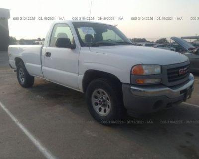 Salvage White 2006 Gmc Sierra 1500