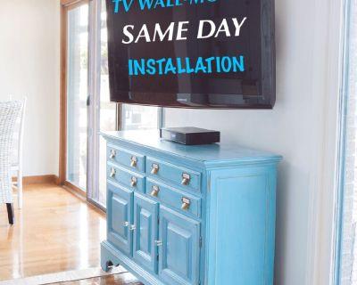 TV MOUNTING SHERMAN OAKS (818) 355-3882 LED LCD PLASMA