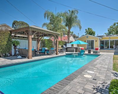 NEW! North Hollywood WFH Oasis w/ Hot Tub + Pool! - Toluca Woods