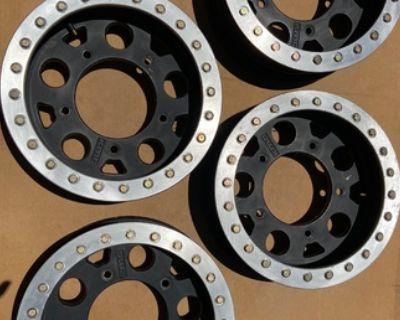 KMC Beadlock Buggy Wheels - Used