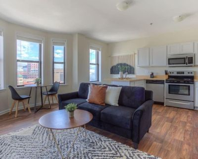 Sunny 1 BR Downtown Apt Steps From Ford Field - Downtown Detroit