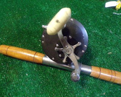 Fishing Rod & reel-Penn Reel Model 149 Left handed