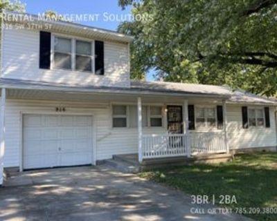 916 Sw 37th St, Topeka, KS 66611 3 Bedroom House