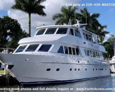 2001, 109' HARGRAVE Motor Yacht For Sale