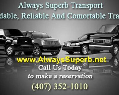 Trusted Orlando airport to Port Canaveral shuttle