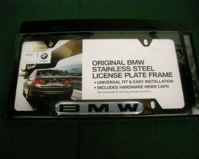 Bmw Black Domed Bmw License Plate Frame