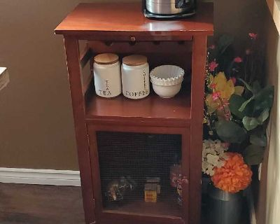 Little Wine Cabinet or Coffee Station