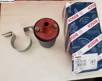 Bosch Black Ignition Coil NOS