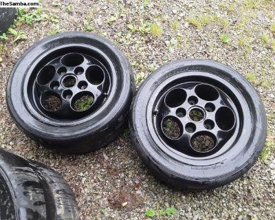 PORSCHE 15 By 7 Alloy Wheels