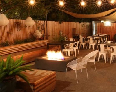 Large Cafe Venue with Catering Options + Patio for Meeting Retreats, Portland, OR