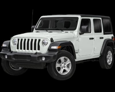 New 2021 Jeep Wrangler Unlimited Sport S 4WD 4D Sport Utility