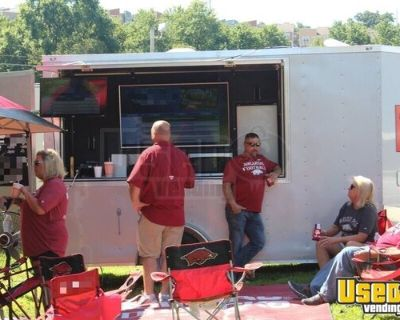 2016 Spartan 6' x 12' Tailgating Mobile Party Trailer with Restroom