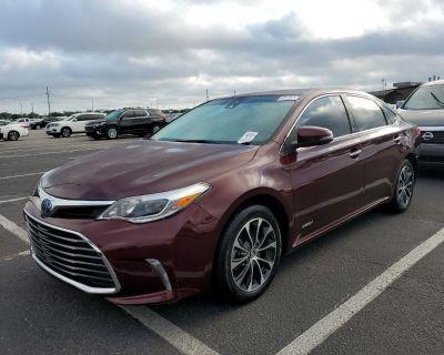 2018 Toyota Avalon Hybrid Limited (Natl)