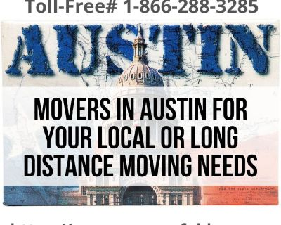 Movers in Austin for Your Local Or Long Distance Moving Needs