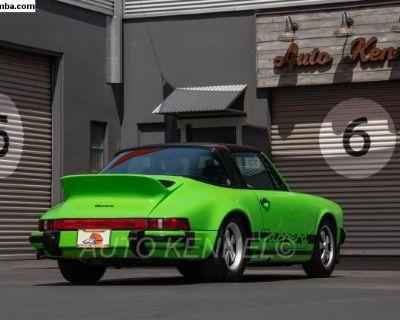 1974 Porsche 911 Carrera 2.7 Targa Lime Green CA