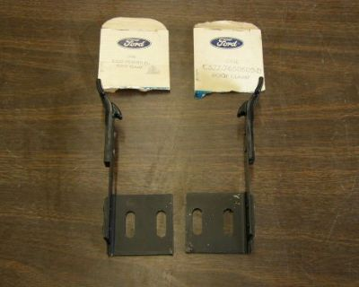 Nos 1965 - 1968 Ford Mustang Convertible Top Latches 1966 1967 Manual Top