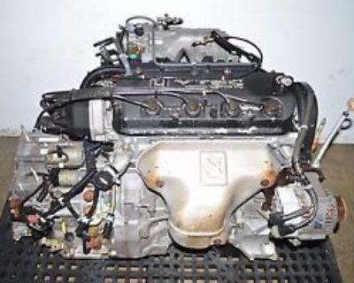 98 99 2000 01 02 Jdm F23a Honda Accord 2.3l Vtec Engine Automatic Transmission