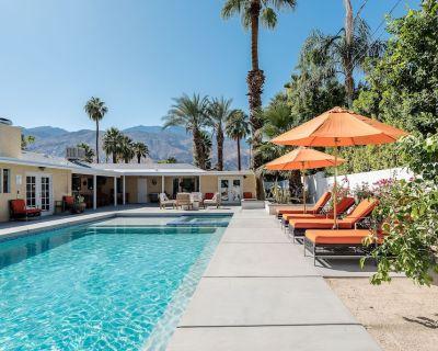 NEW POOL & MORE! Beautiful Mediterranean Hideaway - Palm Springs