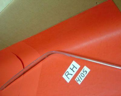 Mustang Oem Drip Molding Trim Fits 71 72 73 Fastback - Rh - #4105