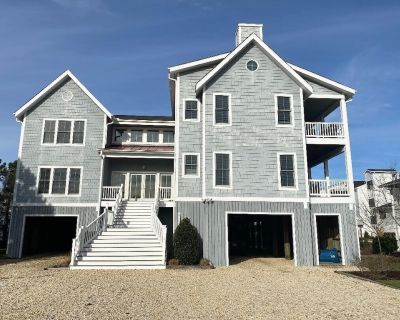 Private Beach Home With Elevator In Gated Ocean Front Community - Bethany Beach