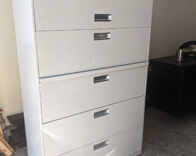 FREE 5 Drawer Lateral Filing Cabinet