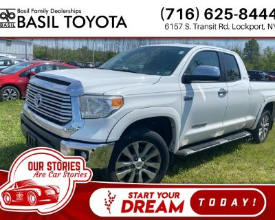 Pre-Owned 2016 Toyota Tundra Limited With Navigation & 4WD