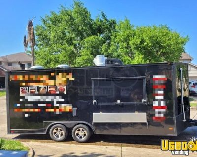 2019 Freedom Trailers 8.5' x 20' Barbecue Food Concession Trailer
