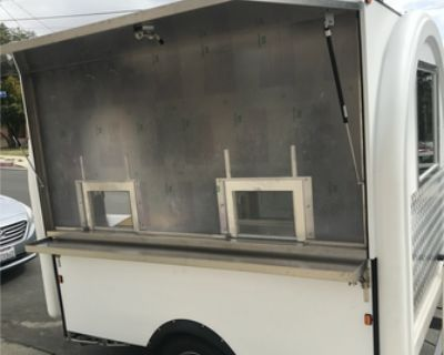 NEW NEVER USED Rolled Ice Cream Food Trailer - SPIN / Ice Cream / 2020