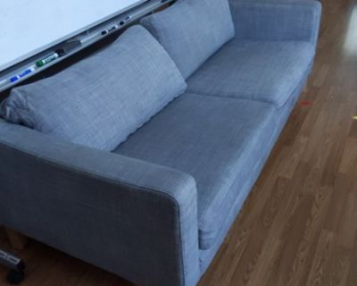 Couch, coffee table