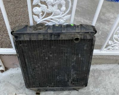 Radiator from 1966 Mustang. 6 cylinder, 2 core. $20.00