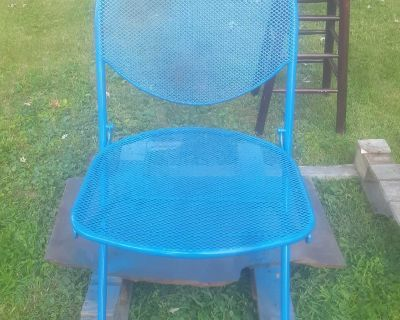 Steel Patio Chair