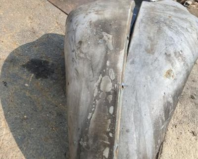 Early bug front fender w wire tube German