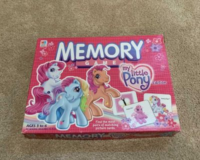 My Little Pony Memory Game