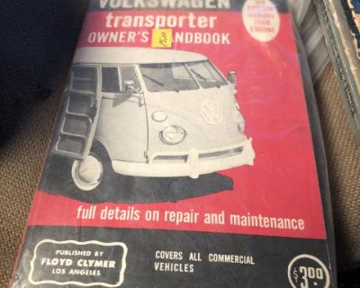 Transporter owners manual Floyd Clymer