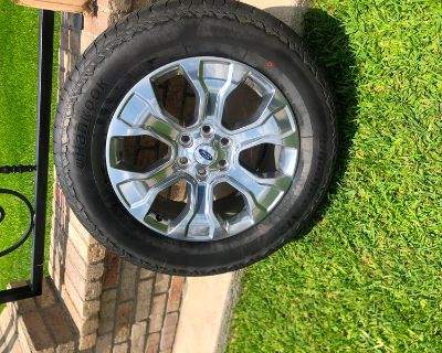 (4) 2021 Ford F-150 20- oem rims and Hankook tires