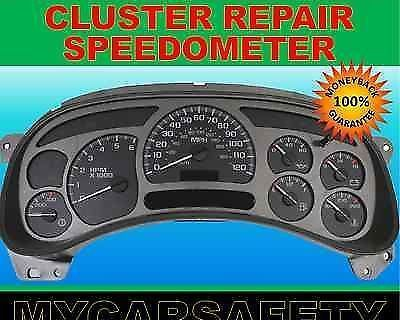Fits Chevy Impala Instrument Cluster Gauge Speedometer Repair Rebuild