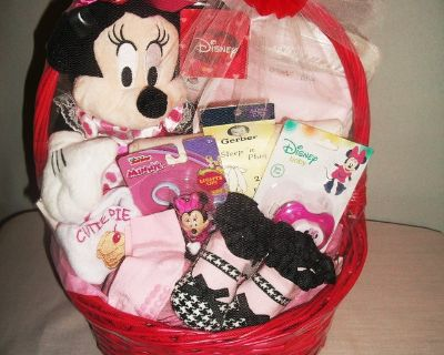 DISNEY MINNIE MOUSE BASKET Very Full