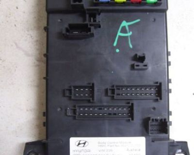 03 04 05 06 7 Hyundai Tiburon Body Control Module Bcm 95480-2c010 Repair Service