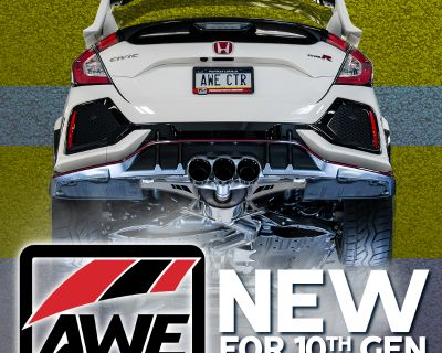 AWE Tuning 10th Gen Civic Exhausts Now Available!