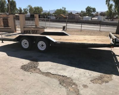 2016 Carry On Flatbed trailer